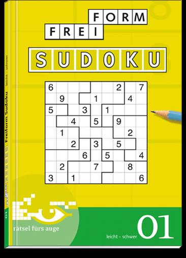 Freiform Sudoku 01 Taschenbuch