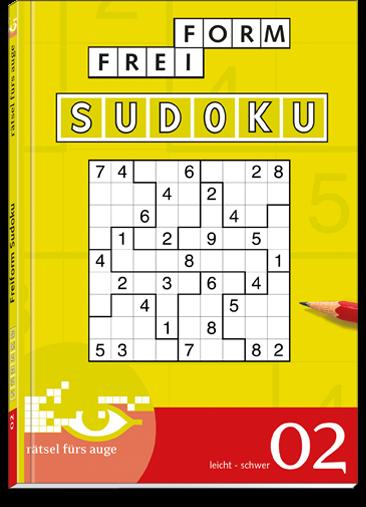 Freiform Sudoku 02 Taschenbuch