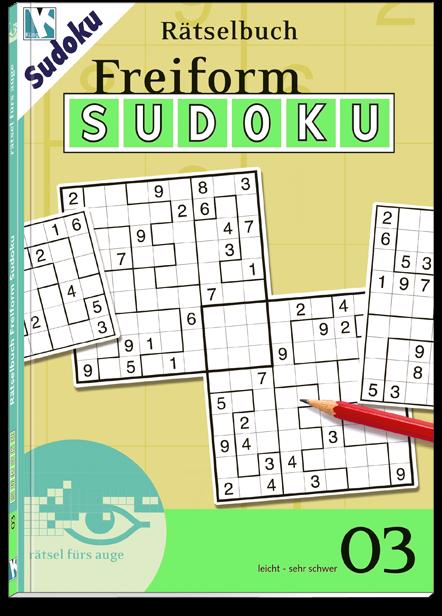 Freiform Sudoku 03 Rätselbuch