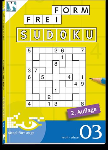 Freiform Sudoku 03 Taschenbuch