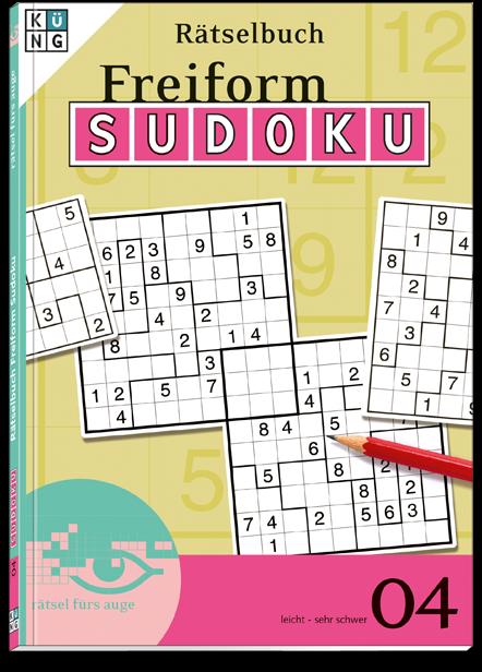 Freiform Sudoku 04 Rätselbuch