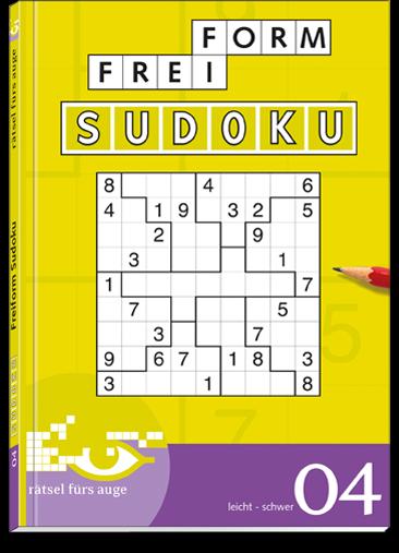 Freiform Sudoku 04 Taschenbuch