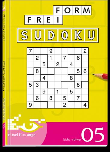 Freiform Sudoku 05 Taschenbuch