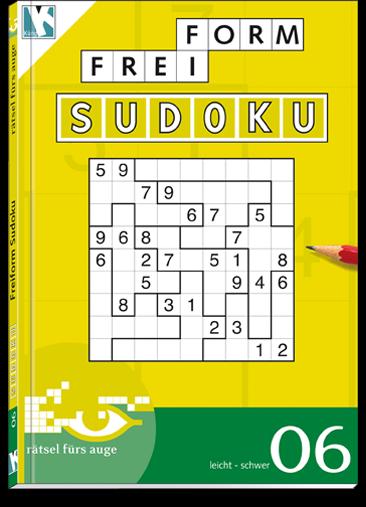 Freiform Sudoku 06 Taschenbuch