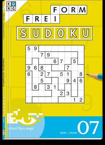 Freiform Sudoku 07 Taschenbuch