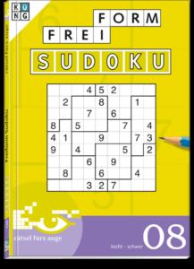 Freiform Sudoku 08 Taschenbuch