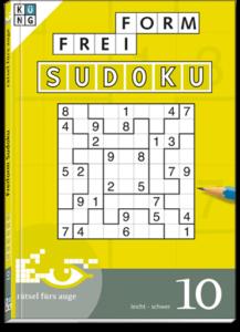 Freiform Sudoku 10 Taschenbuch