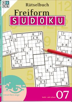 Freiform Sudoku 07 Rätselbuch