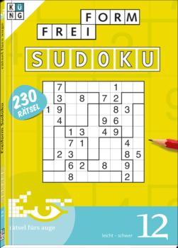 Freiform Sudoku 12 Taschenbuch