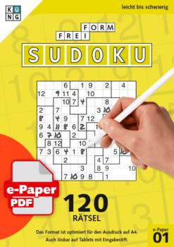 Freiform Sudoku e-Paper